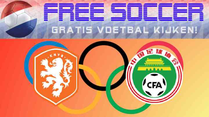 Livestream Nederland - China (v)