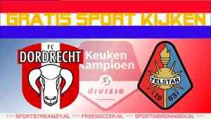 FC Dordrecht vs Telstar livestream