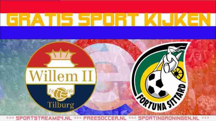 Live Willem II vs Fortuna Sittard