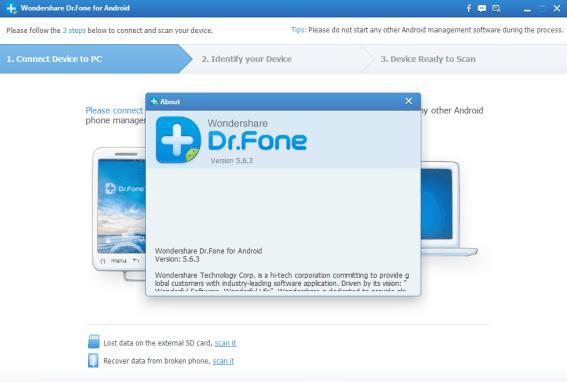 Wondershare Dr Fone Serial Key