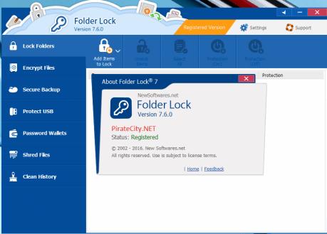 Folder Lock Serial Number