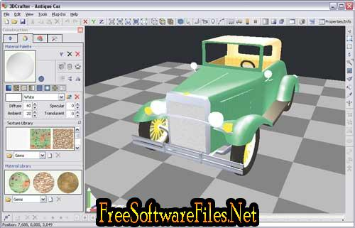 3DCrafter 9.3.1649 Beta Free download latest version