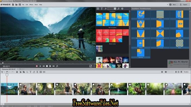 MAGIX Photostory 2020 Deluxe 19.0 Free Download for Windows PC