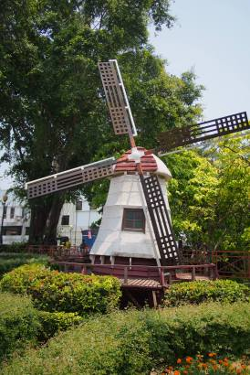 Dutch Windmall by the Melacca River