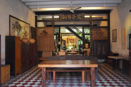 Inside view of Peranakan House