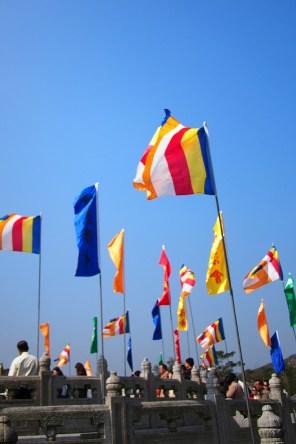 Buddha flags