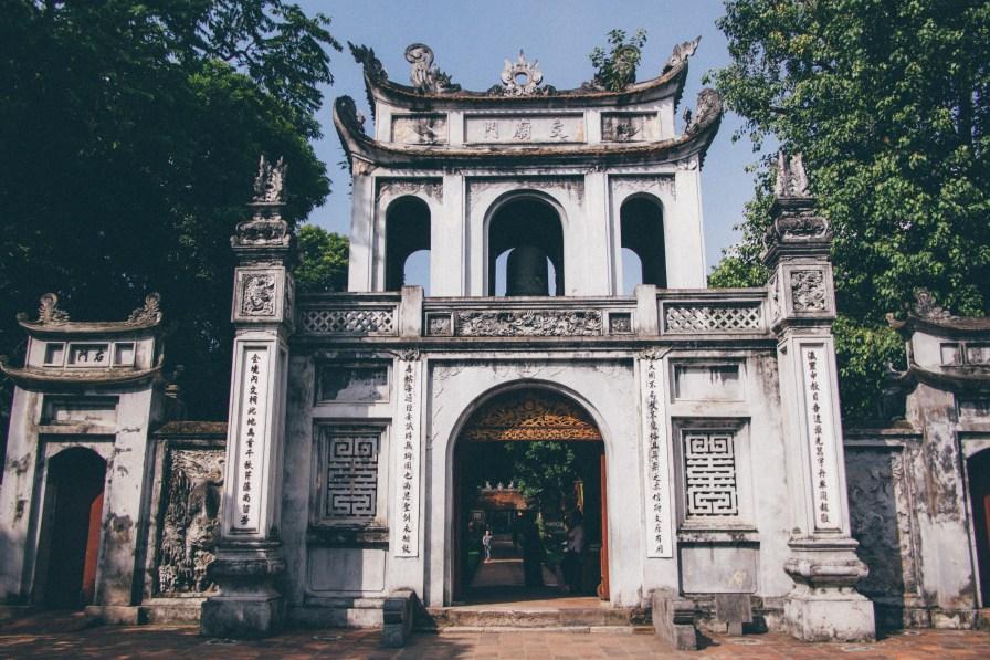 Main Gate, Temple of Literature