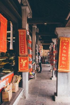 Souvenir Shop at the Temple