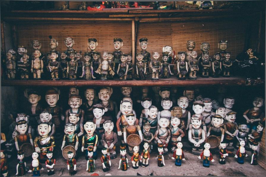 Statues at the Souvenir Shop
