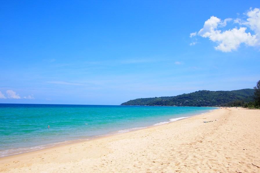White clean beach just for us - Karon Beach
