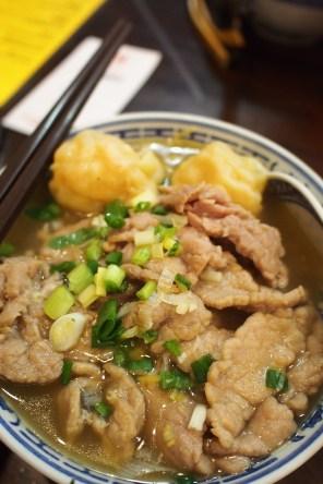 Tsim Chai Kee - Shrimp Wanton Mee