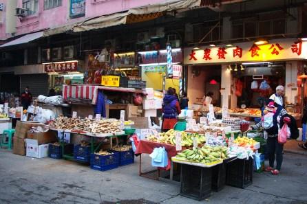 Fruit Stall at Wet Market