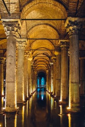 Subterranean Columns