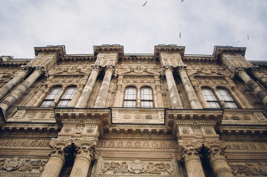 Architectural Details of Dolmabahçe Palace