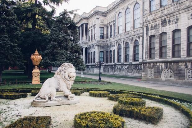Gardens of Dolmabahçe Palace