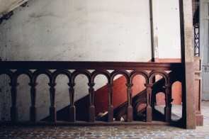 An Old Wooden Staircase