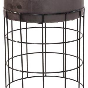 Банкетка Koopman NBD100330 33x42 см металл черный