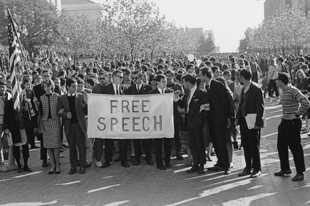 Image result for free speech protest