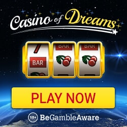 Casino of Dreams   100 free spins and 1000 EUR free bonus   review