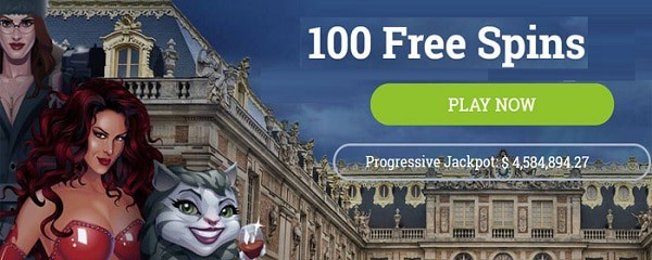 100% bonus and 100 free spins on your 1st deposit