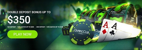Gaming Club Casino bonus offer