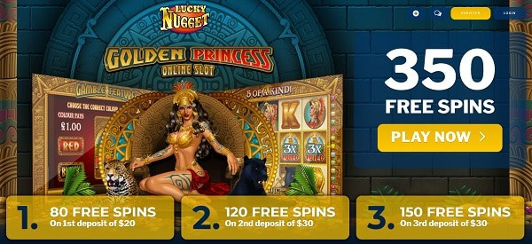 Play free spins on Microgaming slot games!