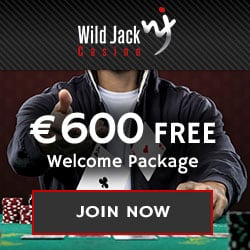 Wild Jack Casino | 30 free spins and $1600 free play bonus | Review