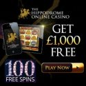 Hippodrome Online Casino 100 free spins
