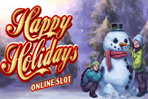 Happy Holidays slot free spins