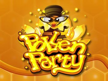 Pollen Party slot - 12 free spins bonus, 720 pay lines, win $110,000 coins