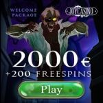JoyCasino Online & Mobile | 200 free spins & 100% up to €2000 bonus