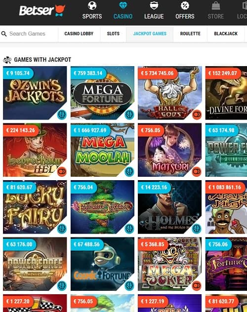 Betser Casino Online