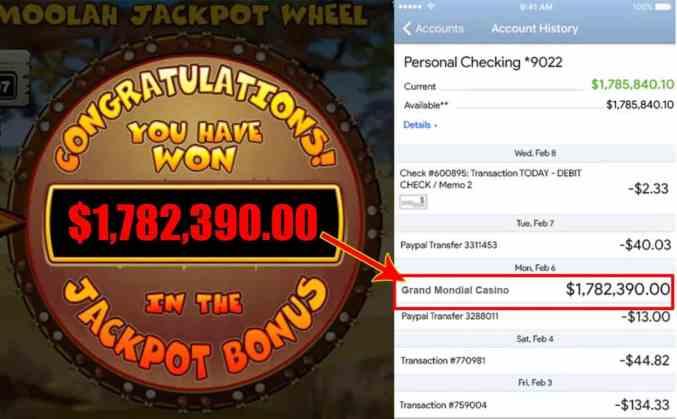 Grand Mondial Jackpot Winner