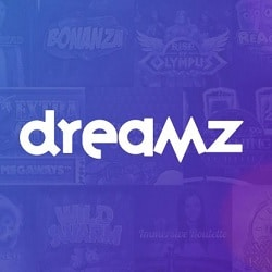 Dreamz Casino | 20 free spins + 100% bonus + 80 gratis spins | Review
