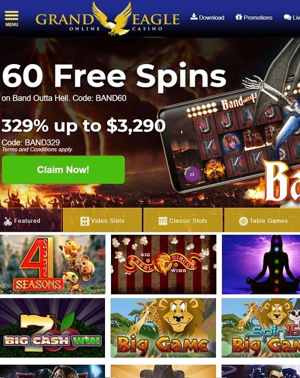 Grand Eagle Casino review