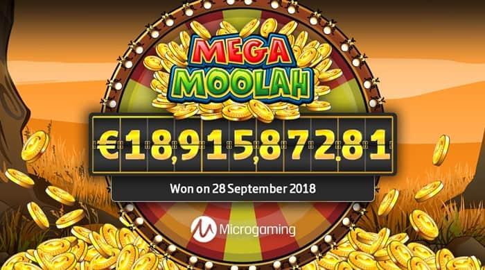 MEGA MOOLAH jackpot winner