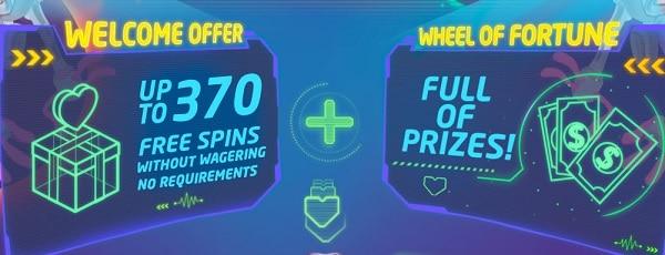 LuckMe Casino free spins bonus