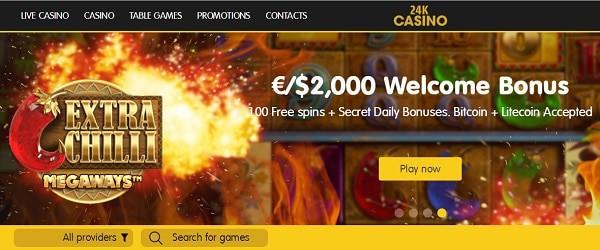 24K free bonus and gratis spins