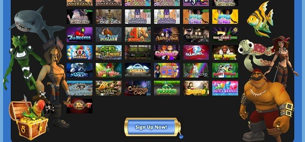 Casino Grand Bay free play games