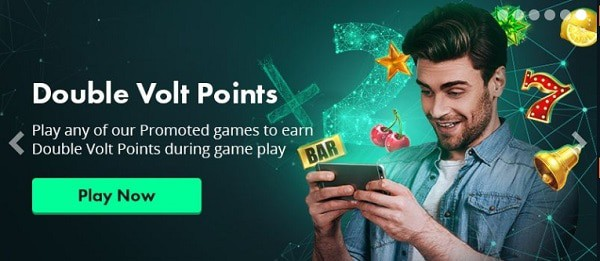 Volt Casino loyalty rewards and VIP points
