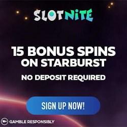 Slotnite.com 15 free spins