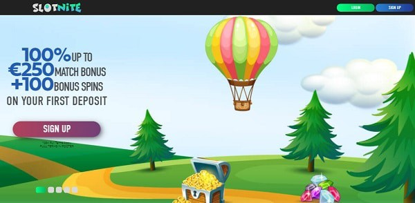 1,000 EUR and 200 free spins in welcome offer