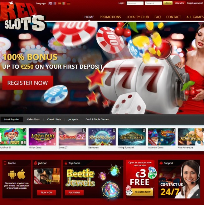 Red Slots Casino Review