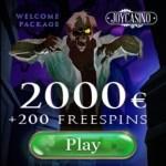 JOY CASINO   200 free spins + 425% up to €2000 gratis bonus