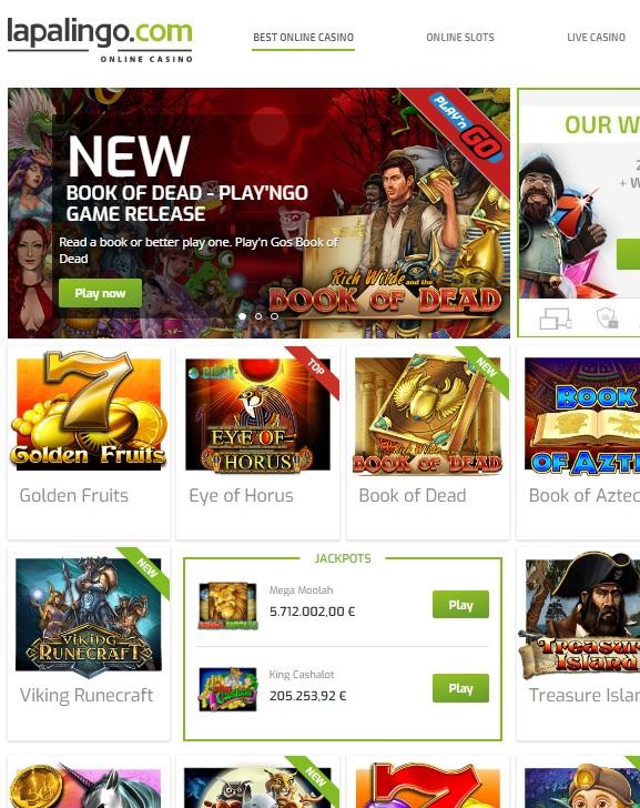 Lapalingo.com Casino