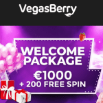 Vegas Berry Casino 200 FS and €1,000 bonus - CLOSED!