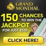 Grand Mondial Casino [register & login] 150 free spins bonus on deposit