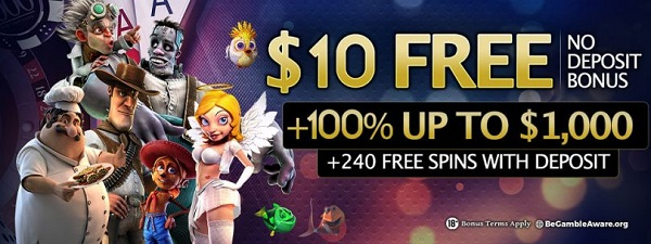 24VIP Casino $10 free chip no deposit required