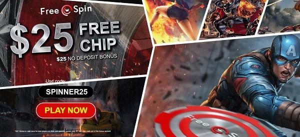 $25 free chip code