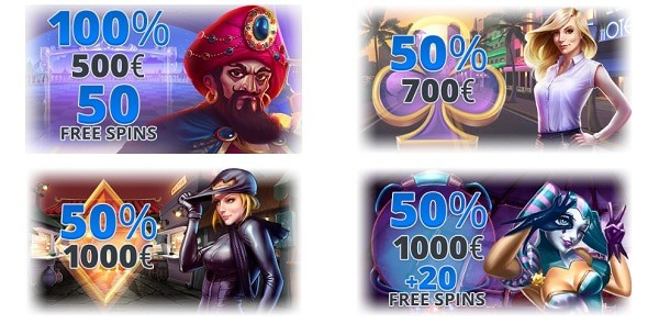 EgoCasino.com promotions and bonus codes